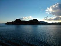 крепость corfu старая Стоковые Изображения