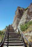 Крепость Deva Стоковые Фотографии RF