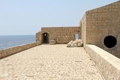 крепость dubrovnik Стоковое Изображение