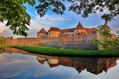 Крепость Fagaras стоковое изображение