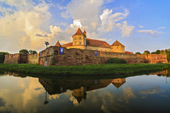 Крепость Fagaras Стоковые Изображения RF