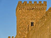 крепость fortifiaction консула замока genoese Стоковое Изображение RF