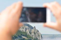 Крепость Golubac Стоковые Изображения