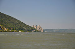 Крепость Golubac Стоковое Фото