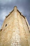 крепость guadalajara Испания torija замока стоковое изображение