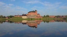 Крепость Hameenlinna Финляндия акции видеоматериалы