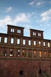крепость heidelberg стоковые фото