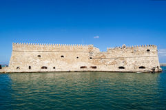 крепость heraklion города Стоковое Изображение