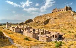Крепость Hisor в Таджикистане стоковые изображения