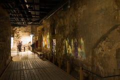 Крепость Hospitaller в Akko Стоковое Изображение RF
