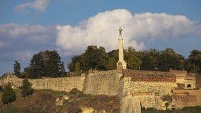 Крепость Kalemegdan в Белграде, Сербии Стоковое фото RF