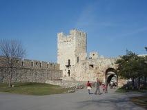 крепость kalemegdan стоковая фотография