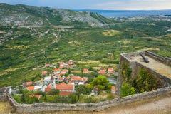 Крепость Klis Хорватии Стоковое фото RF