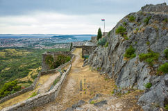 Крепость Klis Хорватии Стоковая Фотография RF