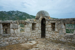 Крепость Klis Хорватии Стоковые Изображения