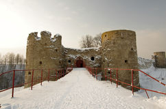 Крепость Koporie Стоковые Фотографии RF