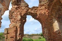 Крепость Koporye Стоковая Фотография