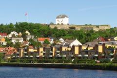 Крепость Kristiansten Стоковое фото RF