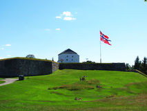 Крепость Kristiansten Стоковое Изображение