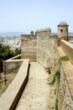 крепость malaga Стоковые Изображения