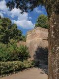 Крепость Medici, Сиены, Италии Стоковая Фотография