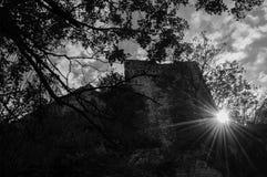 Крепость Medieaval стоковая фотография