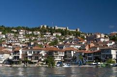 Крепость Ohrid стоковые изображения rf