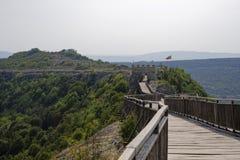 Крепость Ovech в Болгарии Стоковая Фотография