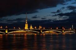 Крепость pavel Питера Стоковая Фотография