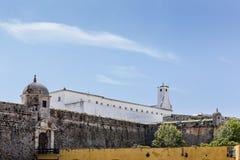 Крепость Peniche в Peniche Португалии Стоковая Фотография RF