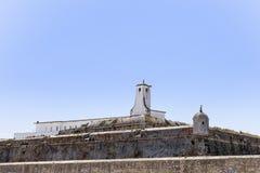 Крепость Peniche в Peniche Португалии Стоковые Изображения RF