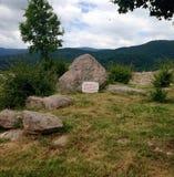 Крепость Peristera в Болгарии Стоковые Фото