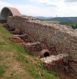 Крепость Peristera, Peshtera, Болгария Стоковое Фото