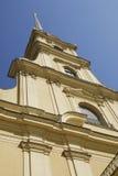 крепость petropavlovsk собора стоковые изображения rf