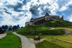 Крепость Rasnov Стоковые Изображения RF