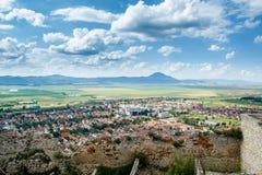 Крепость Rasnov Стоковое Изображение