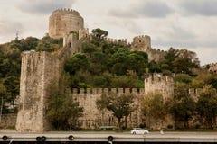 Крепость Rumeli в Стамбуле, Турции Стоковая Фотография