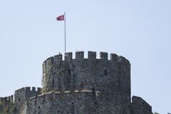Крепость Rumeli, пролив Стамбула, Стамбул Турция стоковое фото rf