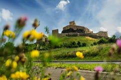 Крепость Rupea Старо чем 3000 лет стоковые фото