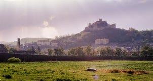 Крепость Rupea Стоковое Изображение