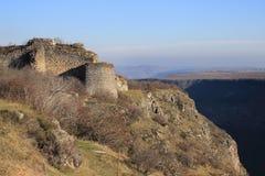 Крепость Samshvilde около деревни Samshvilde Стоковое Изображение RF