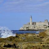Крепость San Carlos de Ла Cabaña Стоковая Фотография RF