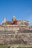 Крепость San Felipe de Barajas Стоковые Изображения RF