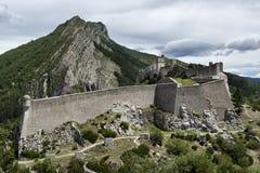 Крепость Sisteron стоковая фотография rf