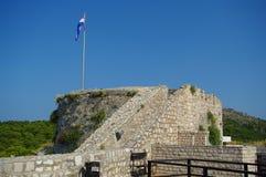Крепость Spanjola в Hvar Стоковые Фото