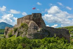 Крепость Surami стоковое фото