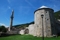 Крепость Travnik стоковая фотография