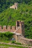 Крепость Tzarevetz, Veliko Tarnovo, Болгария Стоковое фото RF