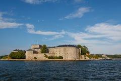 Крепость Vaxholm стоковое изображение