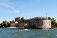 Крепость Vaxholm стоковая фотография